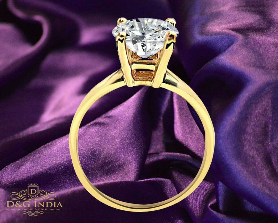 1 Carat Solitaire Diamond Engagement Ring with Price