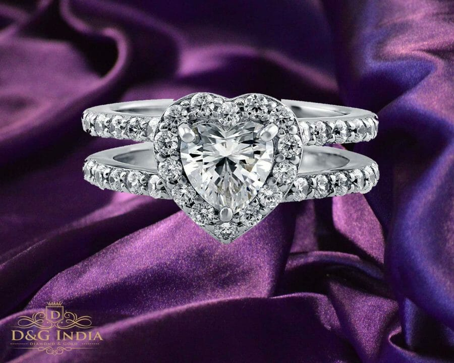 1.76 carat White Gold Solitaire Diamond Engagement Ring