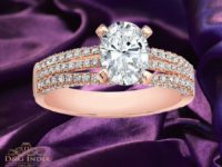 2.54ct Rose Gold Solitaire Diamond Engagement Ring