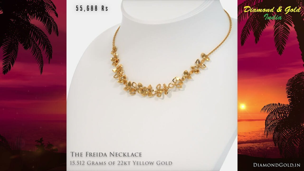 Necklace in 16 Grams of 22K Gold