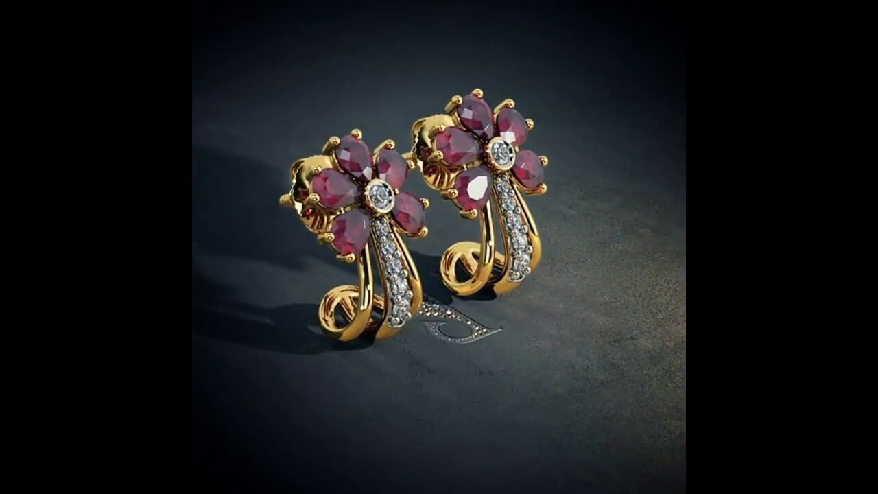 latest designer gold and ruby ea