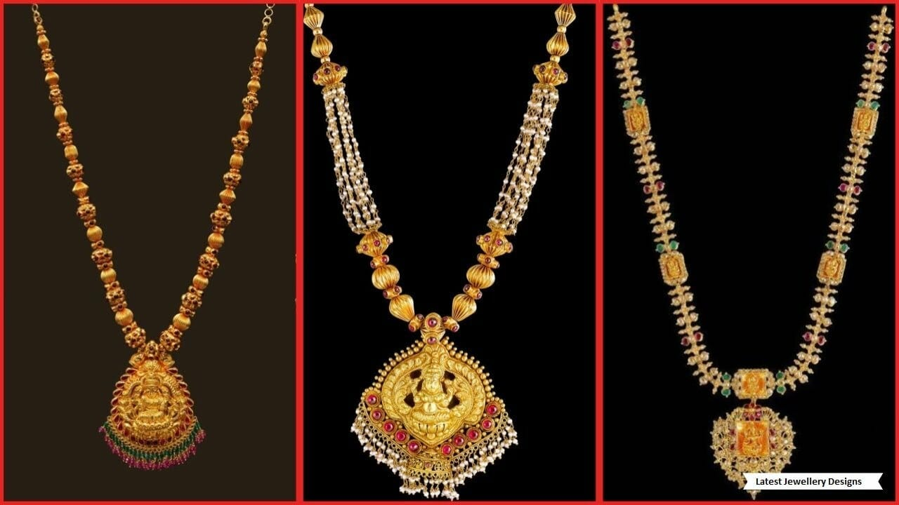 Latest Kalyan Jewellers Gold Necklace Collection New Gold Necklace Designs