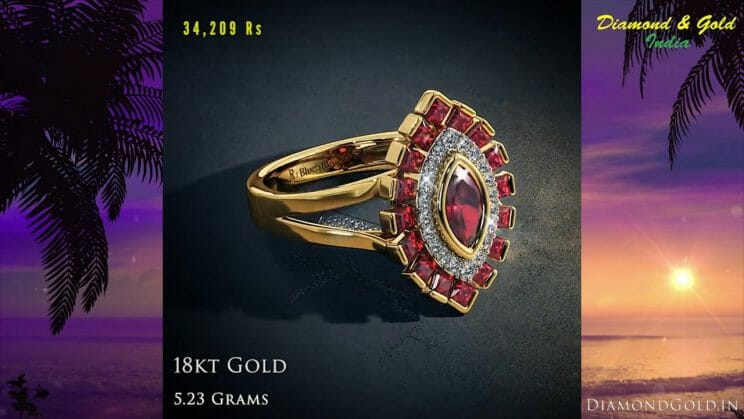 Ruby Rings by BlueStone