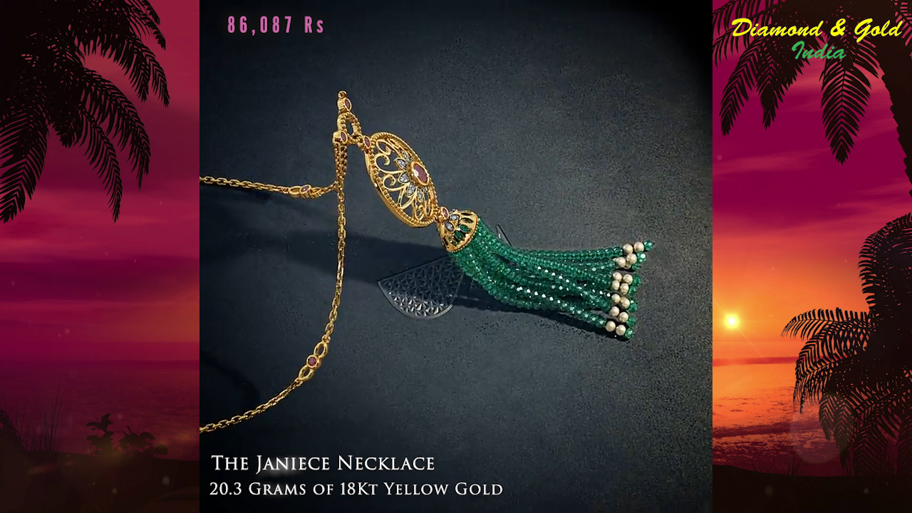 Ruby and Emerald Necklace Design