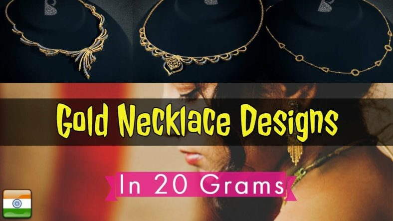 gold necklace designs in 20 gram