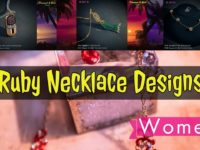 latest ruby necklace designs by