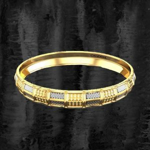 Fashionable Mens Punjabi Gold Kada Design