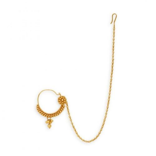 Tanishq Gold Nose Ring with Price