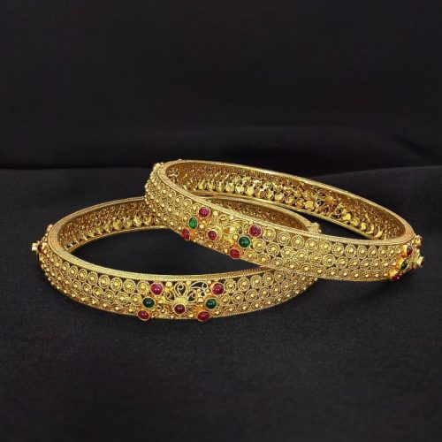 Gold Bangle in 20 Grams with Prices