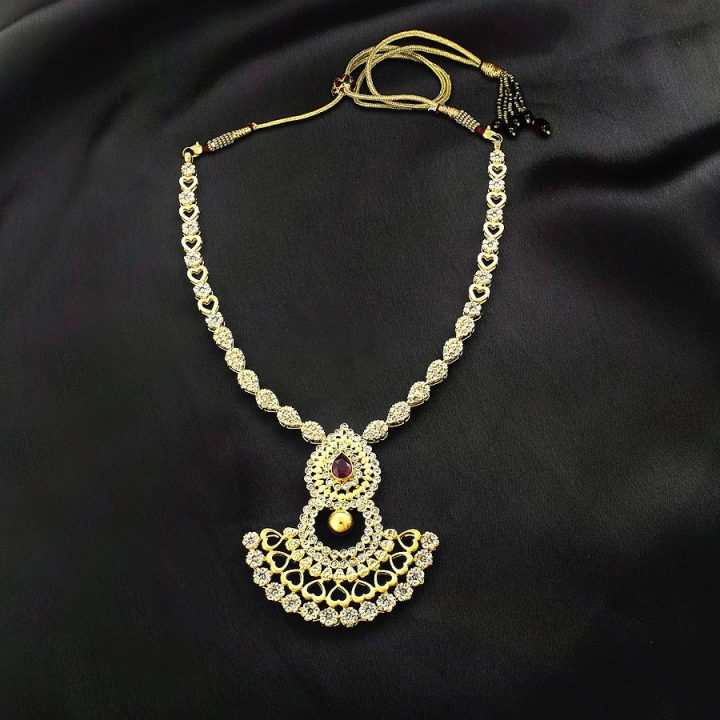 Kalyan Jewellers Gold Necklace Design