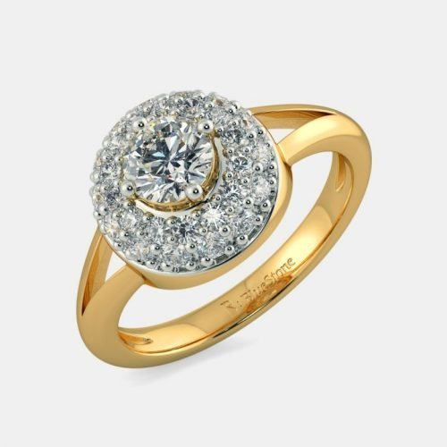 0.3 carat Solitaire Diamond Ring in 18k Gold