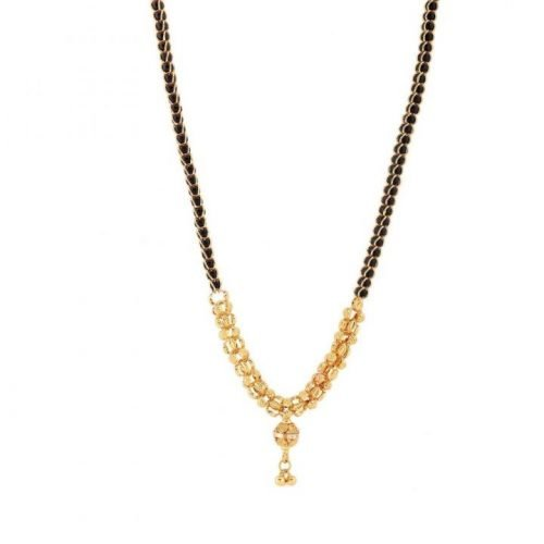 Gold Mangalsutra Necklaces Tanishq