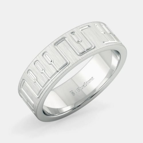 Infinitum Platinum Bands for Men