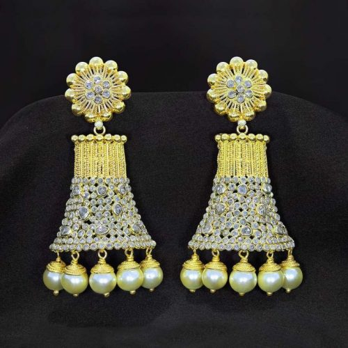 22k Jhumka Design with Weight