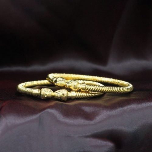 Gold Churi Bangles Design in 10 Grams
