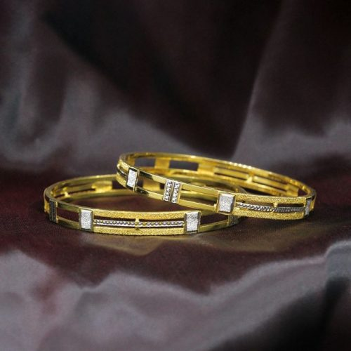 Thin Gold Bangles with Price