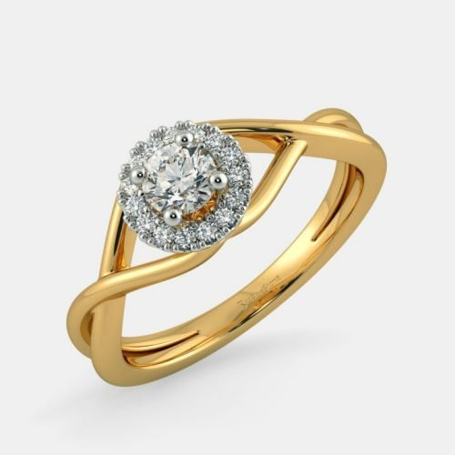 Diamond Rings Designs for Women with Solitaire