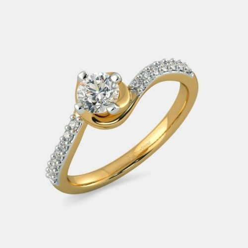 Diamond Solitaire Engagement Ring with Price