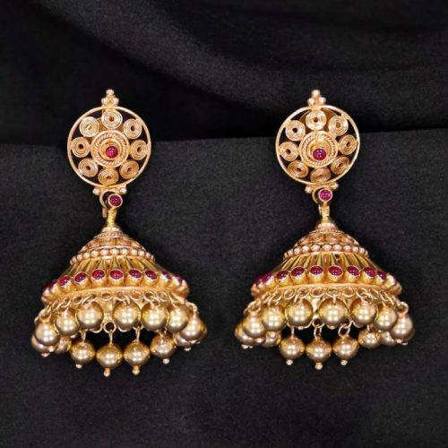 20 Gram Jhumka Earrings