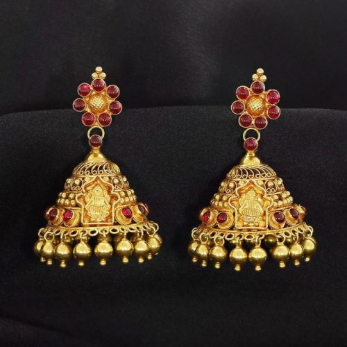 Ethnic Jhumka Design for Women