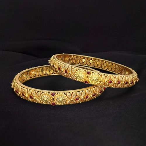 Gold Bangles under 20 Grams