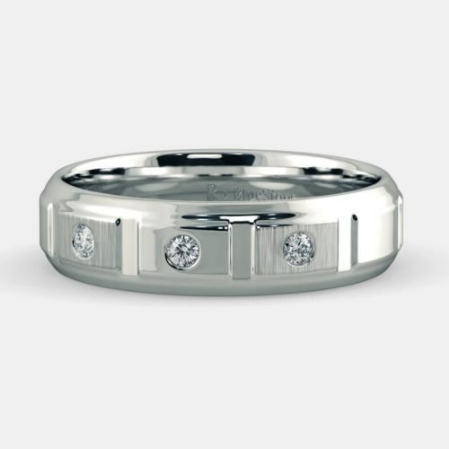 Platinum Diamond Band for Him
