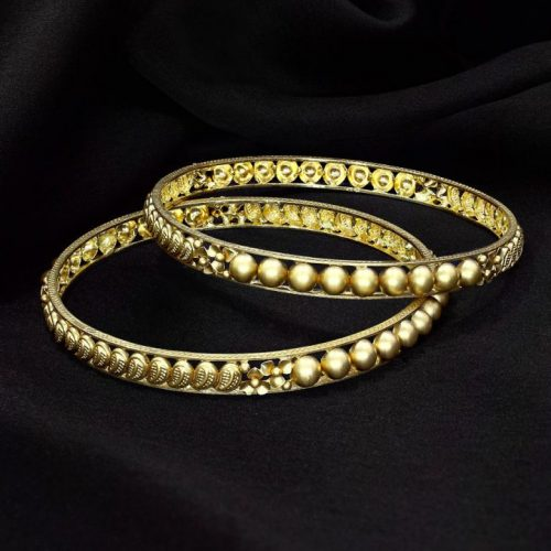 Bangles Set in Gold with Price