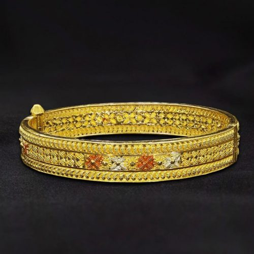 20 Gram Gold Bangles Design for Women