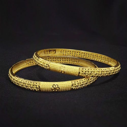 Bangles Design in 10 Grams 22k Gold