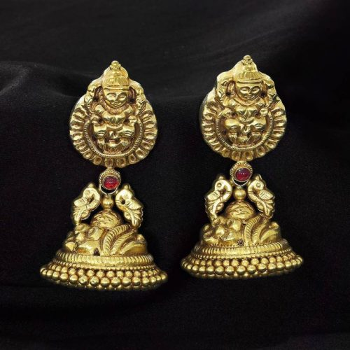 Jhumka Design in Gold