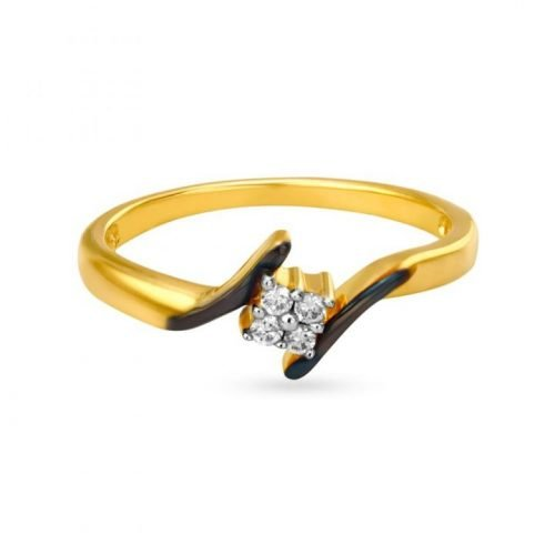 Lightweight Diamond Band for Women by Tanishq