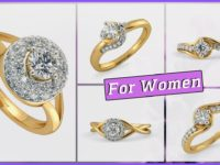 solitaire diamond rings for wome
