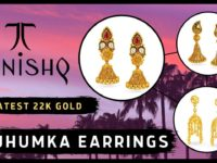 tanishq gold jhumka earrings des