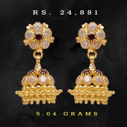 22k-Diamond-and-Gold-Jhumkas