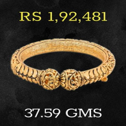 Apoorva Collection Gold Bangle Designs for Women