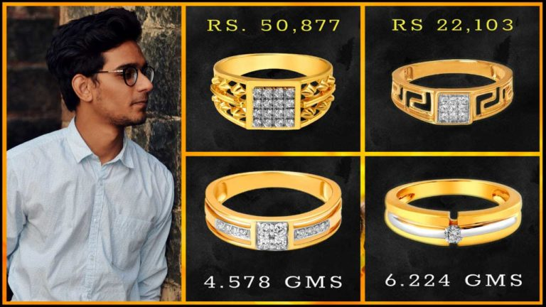 Tanishq Diamond Rings for Men