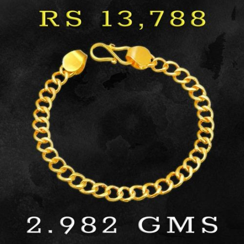 Girls 22K Gold Bracelet from Joyalukkas