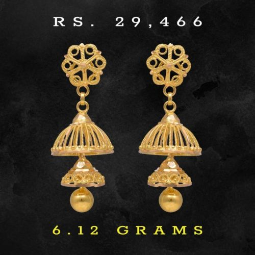 Joyalukkas-22k-Gold-Traditional-Jhumkas