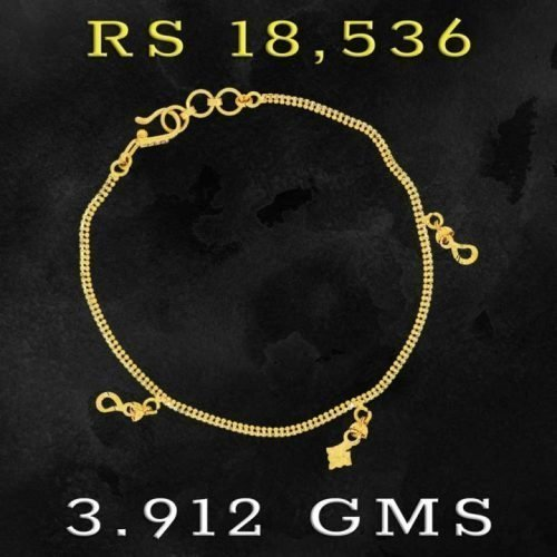 Latest Gold Bracelet Designs for GIrls