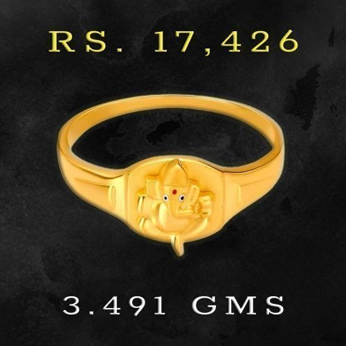 Ring Designs for Men in 22K Gold