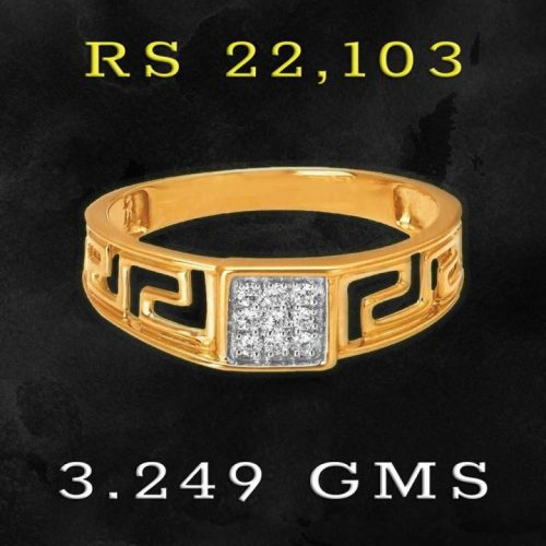 Tanishq Diamond Ring for Men