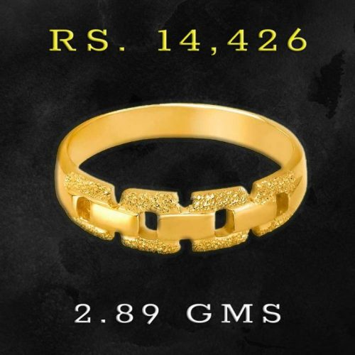 Tanishq Gold Ring for Men under 15000