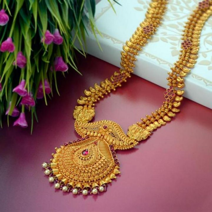 Gold Haram Design with Weight