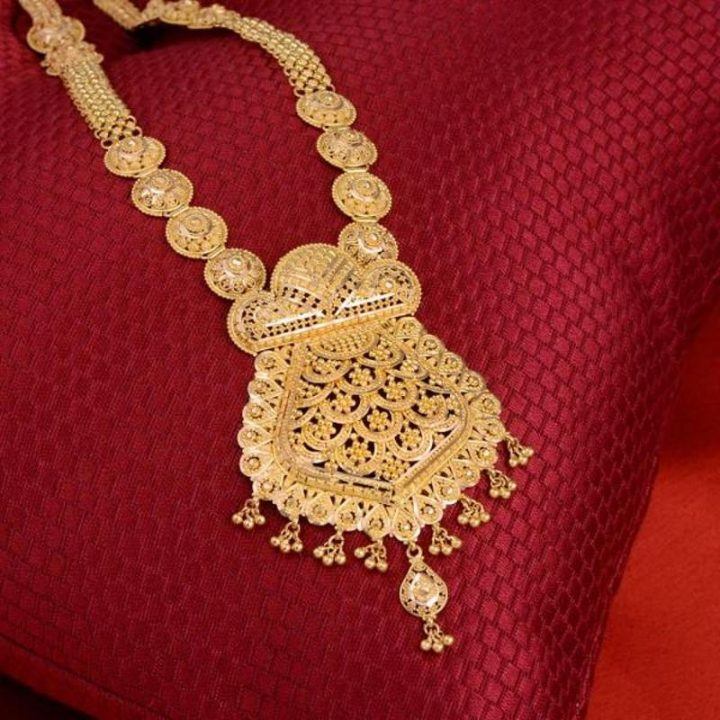Latest Gold Haar Necklace from WHP Jewellers