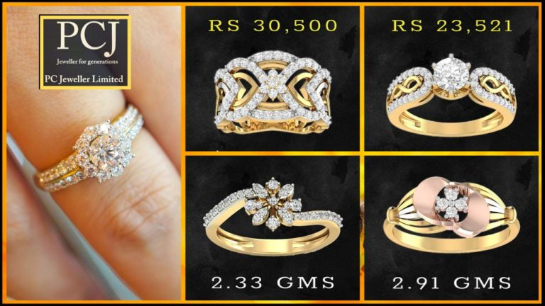 PC Jewellers Diamond Rings