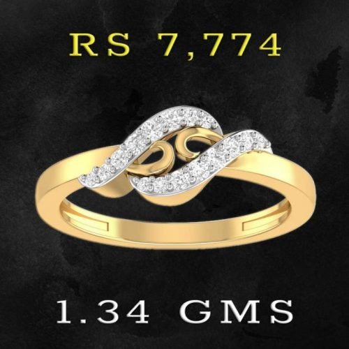 Stylish Ring Designs with Gold and Diamonds