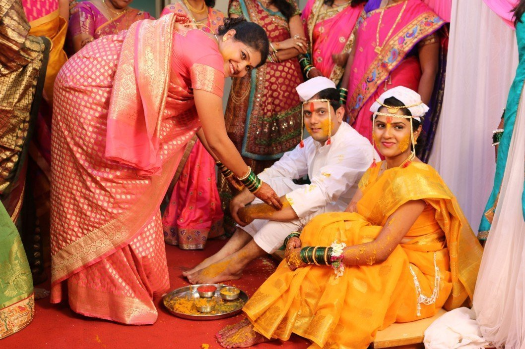 Haldi Ceremony at Indian Wedding