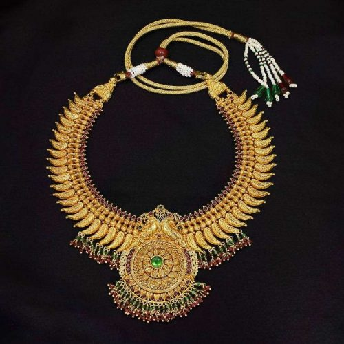 Traditional Style 80 Gram Gold Necklace