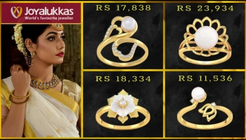 Joyalukkas Gold & Diamond Rings with Price (Girls Jewellery)