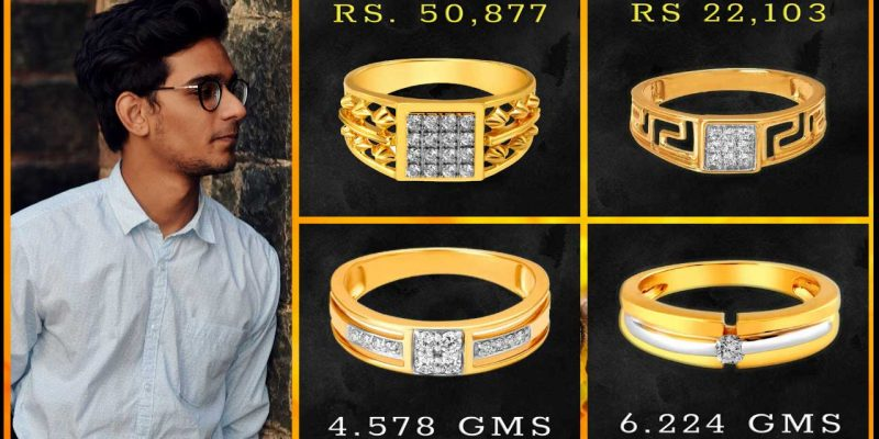 Tanishq Diamond Rings for Men with Price